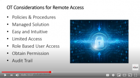 A top question we hear about remote access regards security. Protecting equipment is at the forefront of everyone's minds, especially lately. Ideally, the solution you choose should be loved by both IT and OT. We recently hosted a series of tutorials about security considerations for both groups.